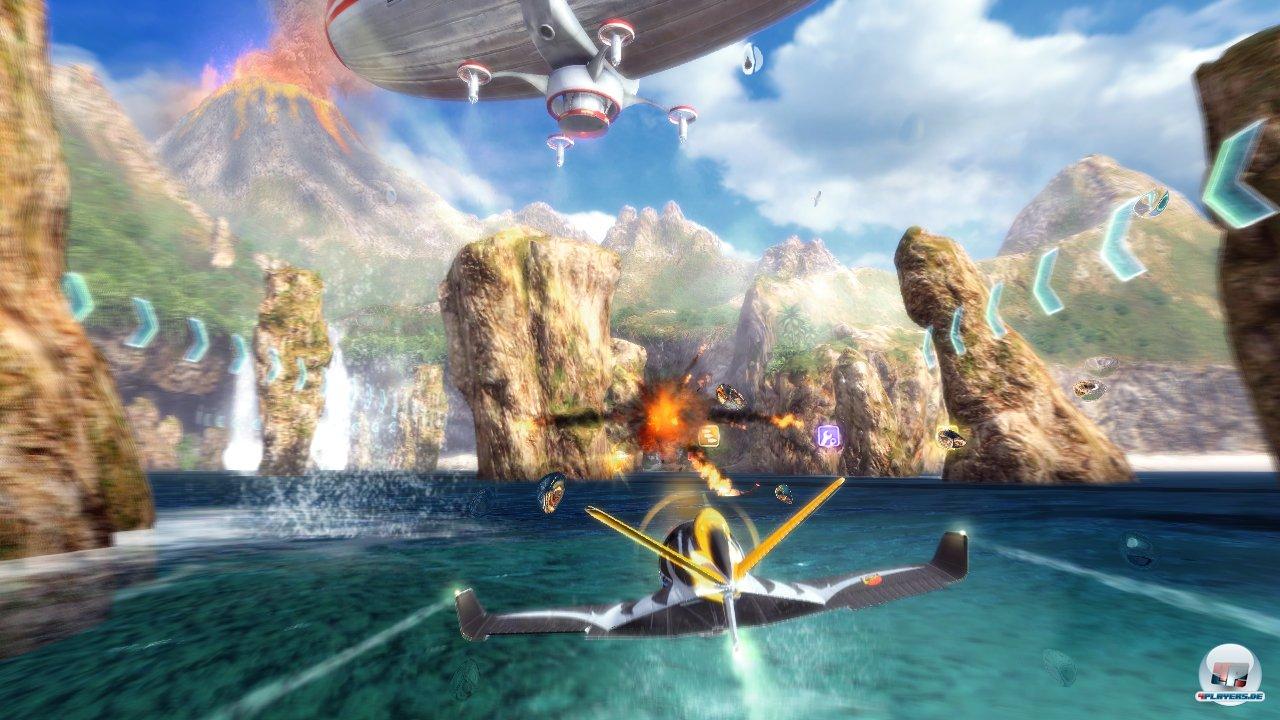 Coole Effekte, idyllische Kulissen: SkyDrift sieht �berraschend gut aus.