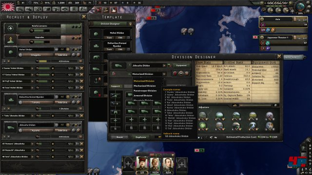 Screenshot - Hearts of Iron 4 (Linux)