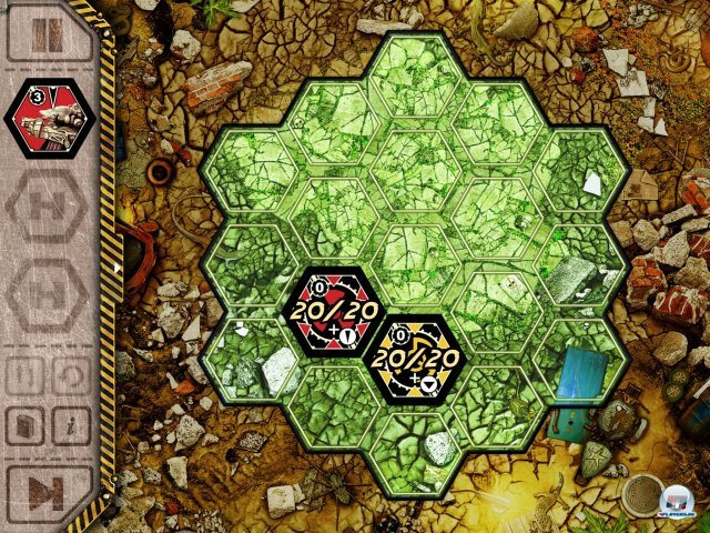 Screenshot - Neuroshima Hex! (iPad)