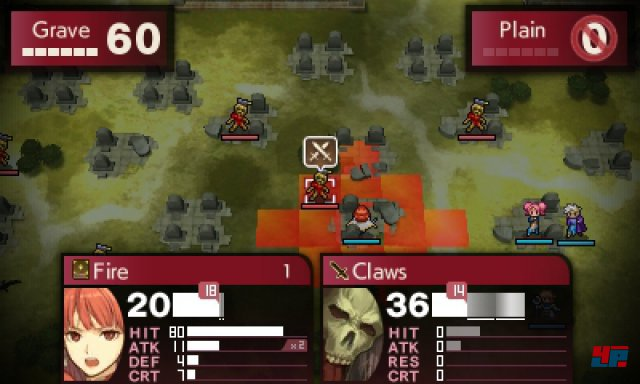 Screenshot - Fire Emblem Echoes: Shadows of Valentia (3DS)