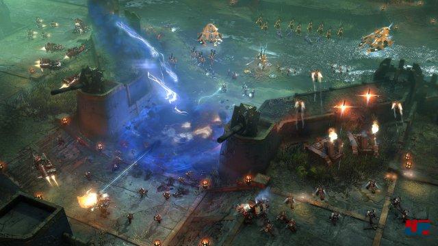 Das Echtzeit-Strategiespiel wird dauerhafte Internetverbindung erfordern - sowohl für das eigentliche Spiel als auch für den Fortschritt (Freischaltung von Helden, Doktrinen, Farben für den Army Painter etc.).
