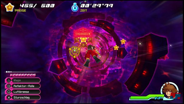 Man merkt an einigen Sequenzen, dass Dream Drop Distance für ein 3D-System optimiert wurde. Doch die Kernmechanik funktioniert auch auf PS4 gut.