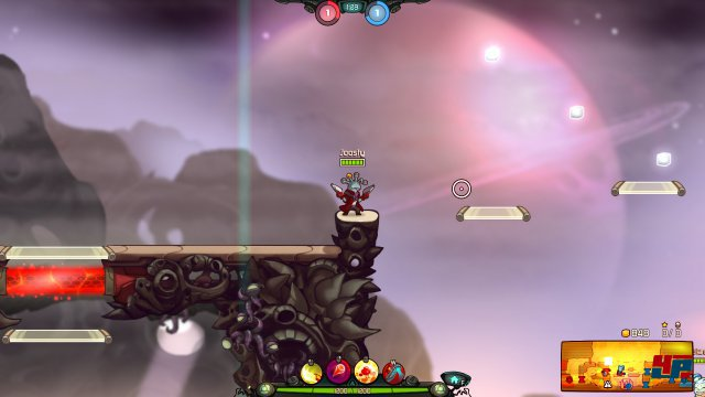 Screenshot - Awesomenauts: Overdrive (Linux)