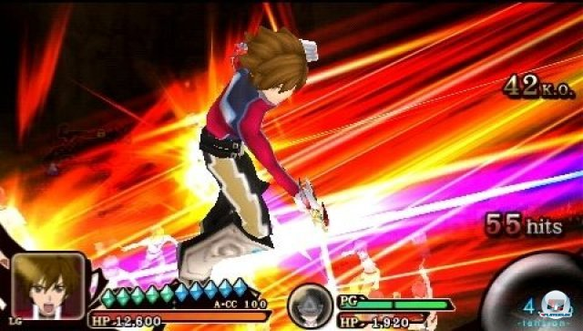 Screenshot - Tales of the Heroes: Twin Brave (PSP) 2295527