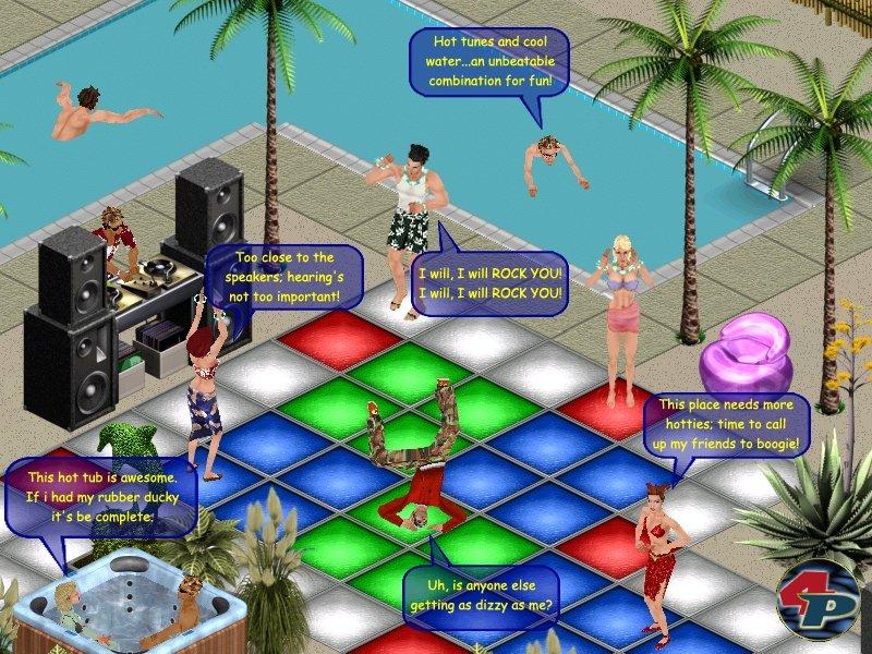 sims online spiel
