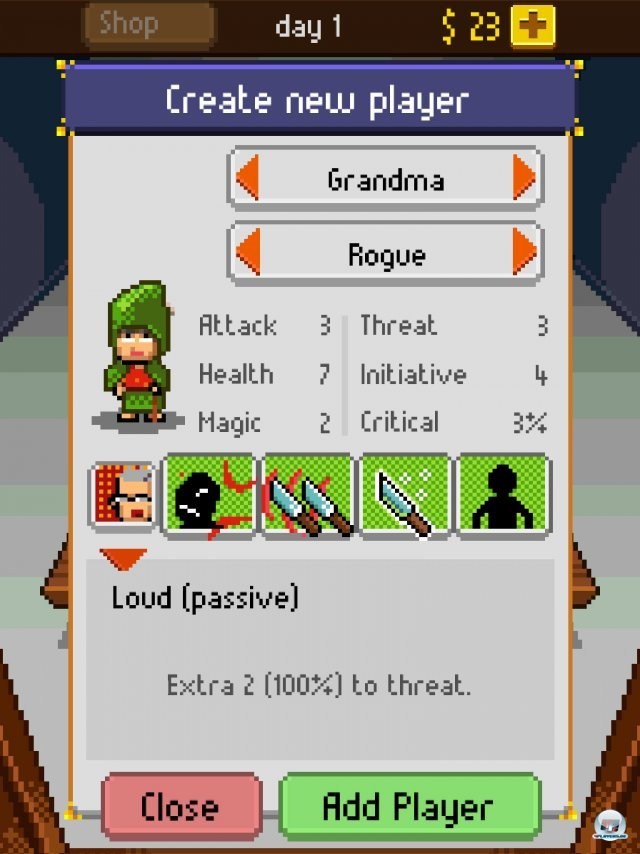 Screenshot - Knights of Pen & Paper (iPad) 92458328