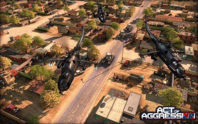 Helikopter, Panzer, Infanterie: Act of Agression erfüllt das Ein-mal-Eins der modernen Kriegsführung.