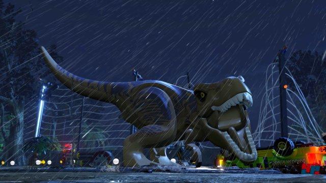 Der T-Rex ist nicht nur ein Gegner, sondern kann sogar als spielbare Figur freigeschaltet werden.