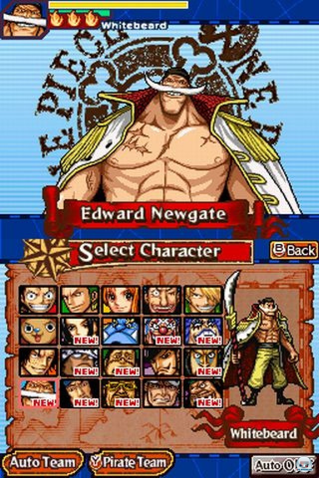 Screenshot - One Piece: Gigant Battle (NDS) 2237449