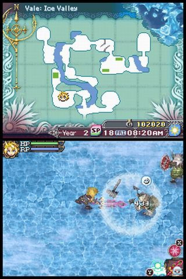 Screenshot - Rune Factory 3: A Fantasy Harvest Moon (NDS) 2273127