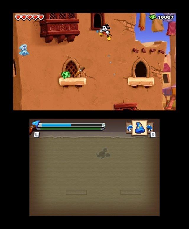 Screenshot - Micky Epic - Die Macht der Fantasie (3DS) 92406567