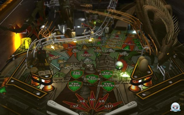 Screenshot - Dream Pinball 3D II (PC)