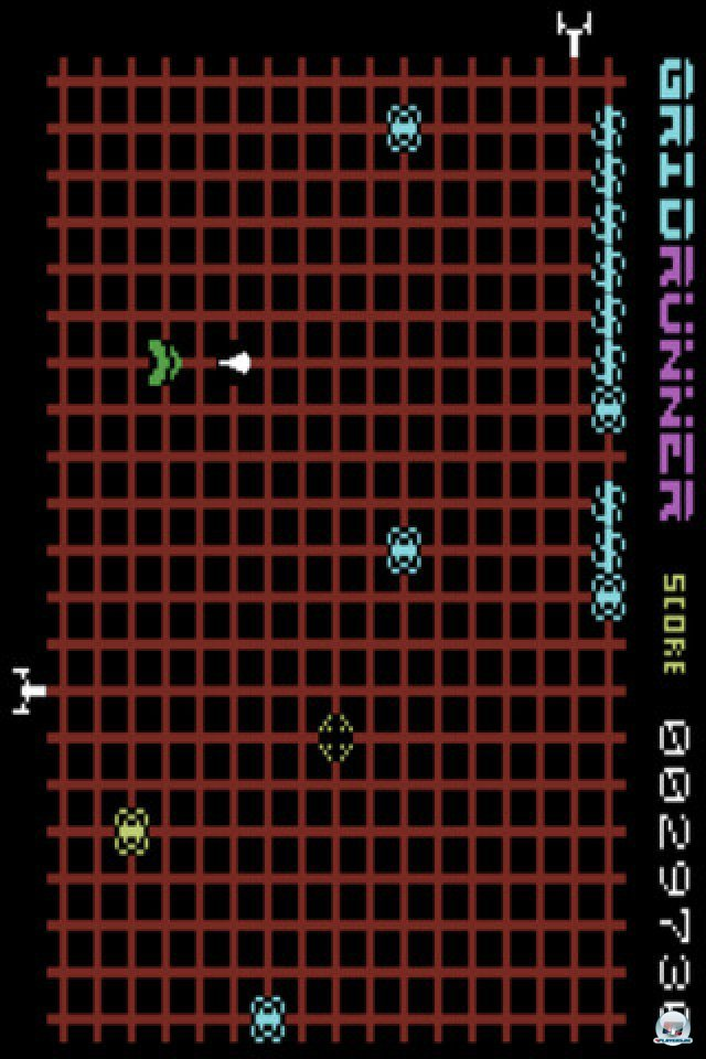 Screenshot - Gridrunner (iPhone)