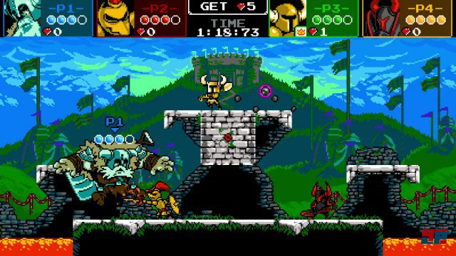 Screenshot - Shovel Knight (Linux)