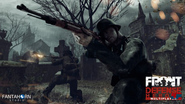 Screenshot - Front Defense: Heroes (HTCVive)