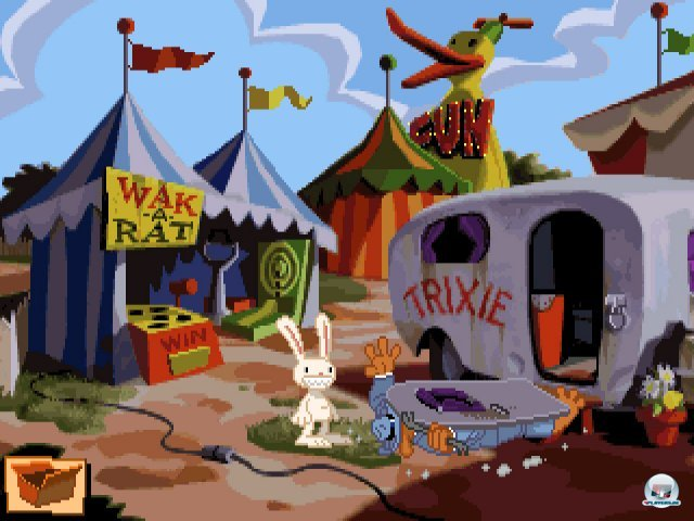 Screenshot - Sam & Max Hit the Road (PC) 92431677