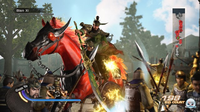 Screenshot - Dynasty Warriors 7: Xtreme Legends (PlayStation3) 2286687