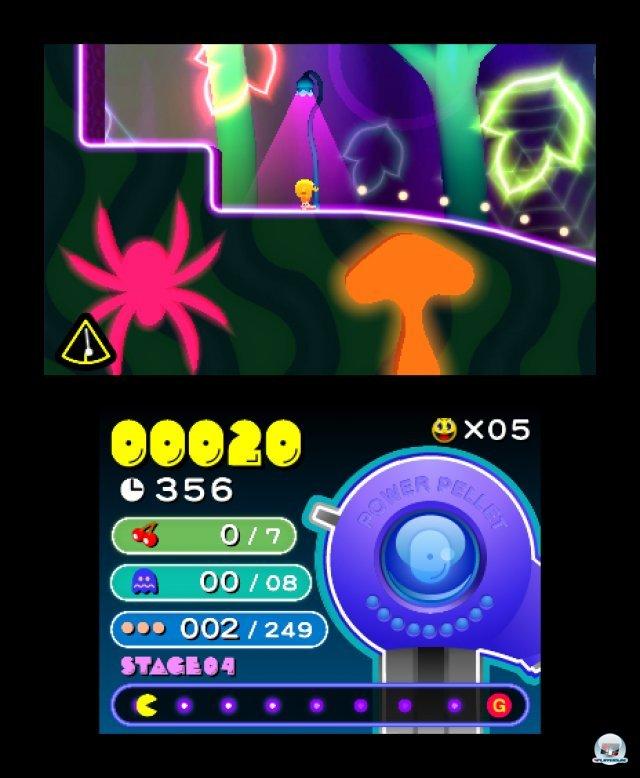 Screenshot - Pac-Man & Galaga Dimensions (3DS) 2257352