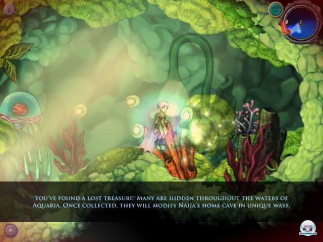 Screenshot - Aquaria (iPad)