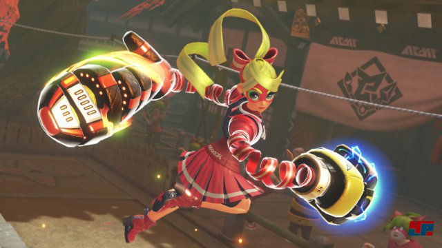 Screenshot - Arms (Switch)