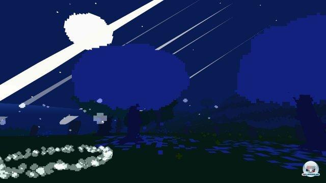 Nachts wirkt die Insel nicht nur geheimnisvoller - es �ffnet sich auch ein Tor durch die Zeit.
