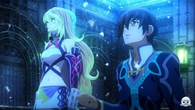 Die vorgefertigten Anime-Sequenzen können sich hingegen sehen lassen.