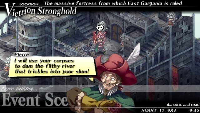 Screenshot - Gungnir (PSP)