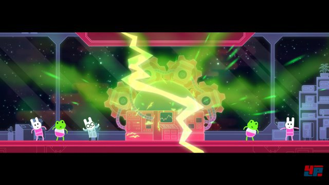 Screenshot - Lovers in a Dangerous Spacetime (PlayStation4)