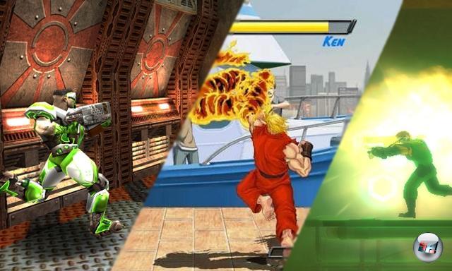 Die Zukunft<br><br>Wir sprachen von zehn Spielen, was macht dann ein elftes Bild hier? Jaja, mit der Mathe hat's bei 4Players schon immer gehapert, sieht man ja auch an den Wertungen. Oder? Ha, glatt gelogen! Mit dem letzten Bild wollen wir euch einen kleinen Eindruck von zukünftigen, sehr vielversprechenden Remakes verschaffen. Haltet also Augen und Gamepads offen nach Bionic Commando Rearmed, Quake Live und Super Street Fighter 2 Turbo HD Remix. Es dürfte sich lohnen! 1758458