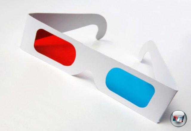 <br><br>Das haben wir doch alle schon mal gesehen und auf der Nase gehabt: Meist liegen die Papp-3D-Brillen Fernsehzeitschriften oder Werbeprospekten bei, in denen man sich gleich einen räumlichen Eindruck des Produkts auf Bildern verschaffen kann. Doch auch im Fernsehen kam die Brille zwischendurch immer wieder zum Einsatz - sei es bei der trashigen Erotiksendung Tutti Frutti oder einer 3D-Woche von Sendern wie Pro 7 oder Kabel Eins. DVDs und Blu-rays zu 3D-Filmen wie