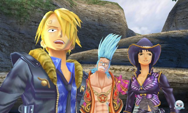 Screenshot - One Piece: Unlimited Cruise SP (3DS) 2259262