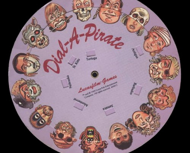 Generell war Lucas Arts nicht nur in Sachen Spiel-, sondern auch Kopierschutzdesign verdammt kreativ: Welcher Spieler erinnert sich nicht mit Freuden an die bekloppten »Rezepte« und Piraten-Hängedaten, die man vor dem Genuss der Monkey Island-Spiele mittels Codewheel zusammenschrauben musste? 1970868