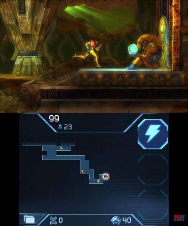 Mercury Steam stellt das Abenteuer über eine 3D-Engine dar und im Gegensazt zum schwarzweißen Original erkundet man natürlich farbenfrohe Labyrinthe.