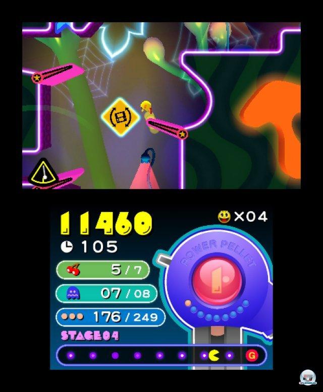 Screenshot - Pac-Man & Galaga Dimensions (3DS) 2257387