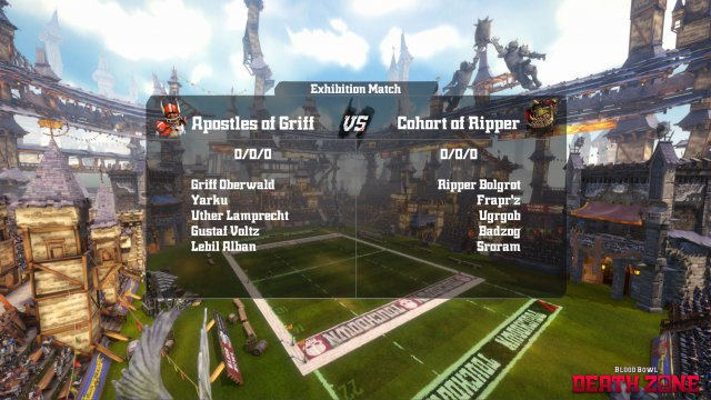 Screenshot - Blood Bowl: Death Zone (PC)