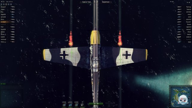 Die Messerschmidt BF 109-E war das  Arbeitstier der Luftwaffe und ist ein Tier-5-Jäger.