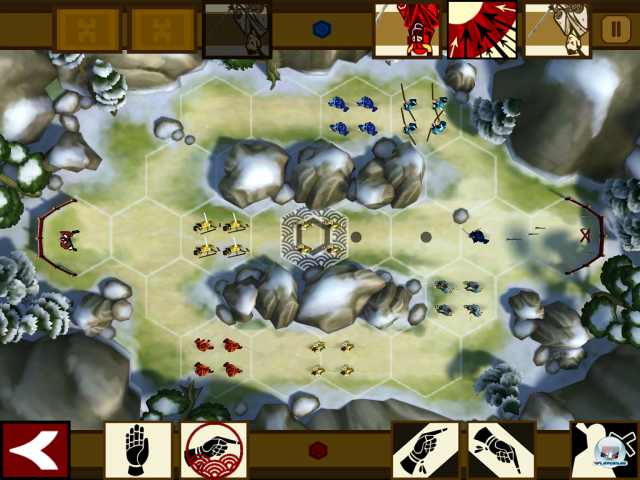 Screenshot - Total War Battles: Shogun (iPad)