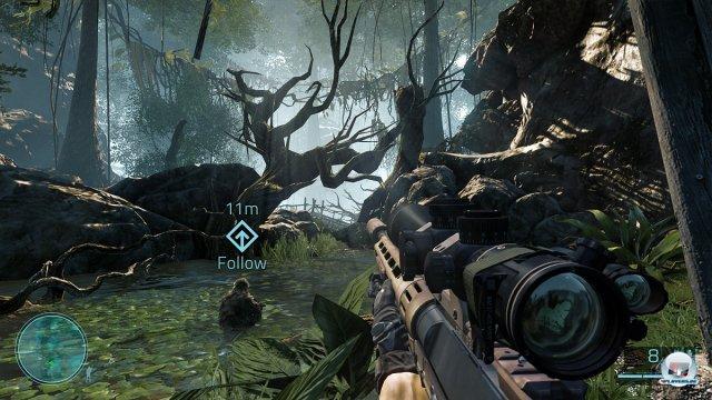 Zurück im Dschungel: Diesmal wird das Grünzeug von der CryEngine 3 berechnet.