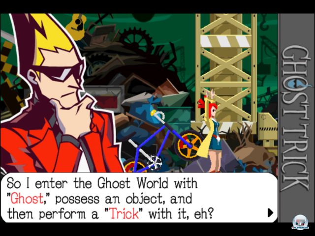 Screenshot - Ghost Trick: Phantom-Detektiv (iPad)