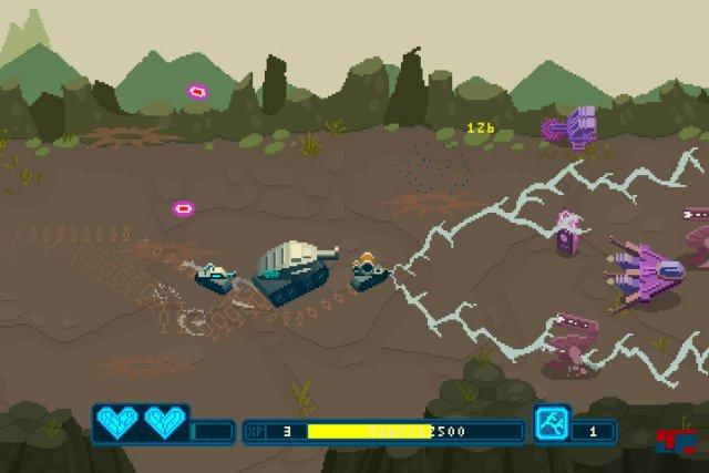 Screenshot - Lil Tanks (Linux)