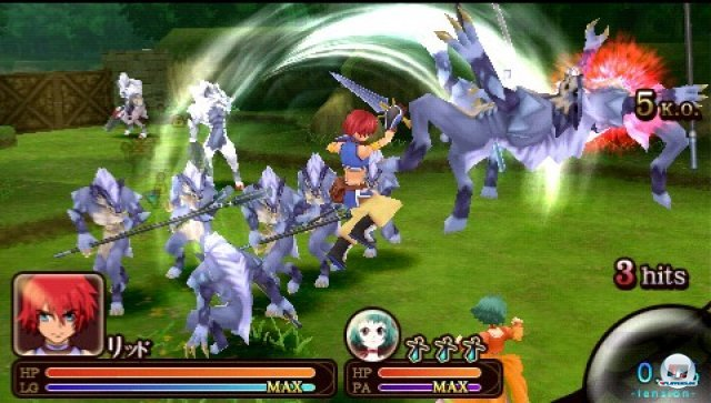Screenshot - Tales of the Heroes: Twin Brave (PSP) 2287347