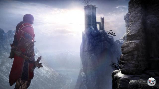 <b>Lords of Shadow:</b><br><br>Zum einen, weil das bereits seit einem Jahr entwickelte Spiel auf einmal ein Castlevania ist. Zum anderen, weil es völlig unerwartet von Hideo Kojima produziert wird. Eine enorm viel versprechende Kombination! 1962383