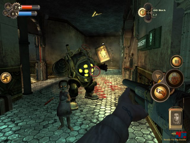 Screenshot - BioShock (iPad) 92487427