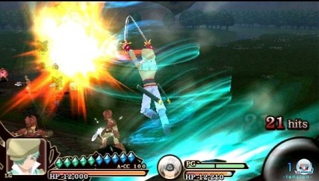 Screenshot - Tales of the Heroes: Twin Brave (PSP) 2295467