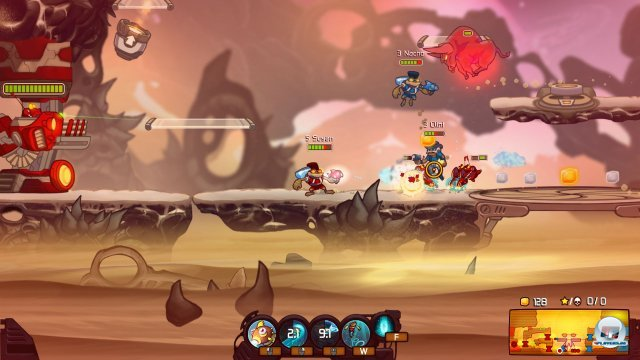 Screenshot - Awesomenauts (PC)