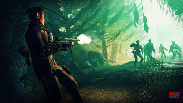 Der düstere Dämonenwald gehört zum dritten Kapitel der Zombie-Mär.