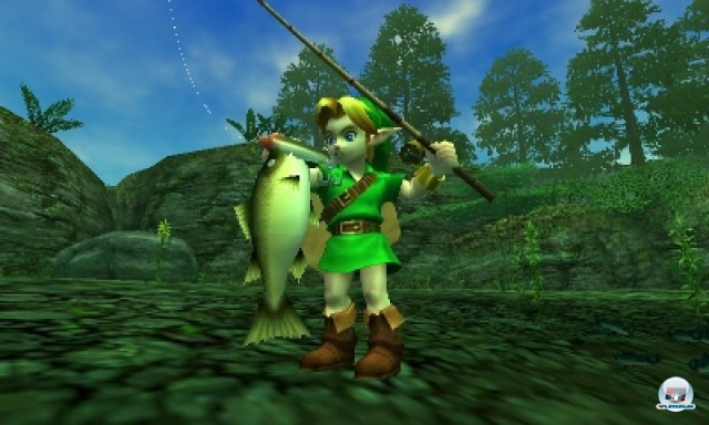 Screenshot - The Legend of Zelda: Ocarina of Time 3D (NDS) 2216973