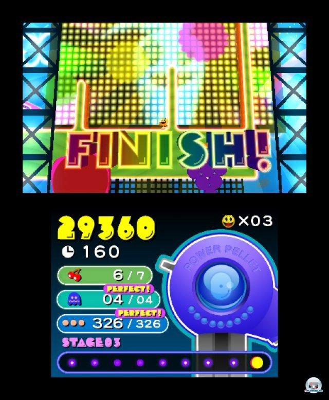 Screenshot - Pac-Man & Galaga Dimensions (3DS) 2257347