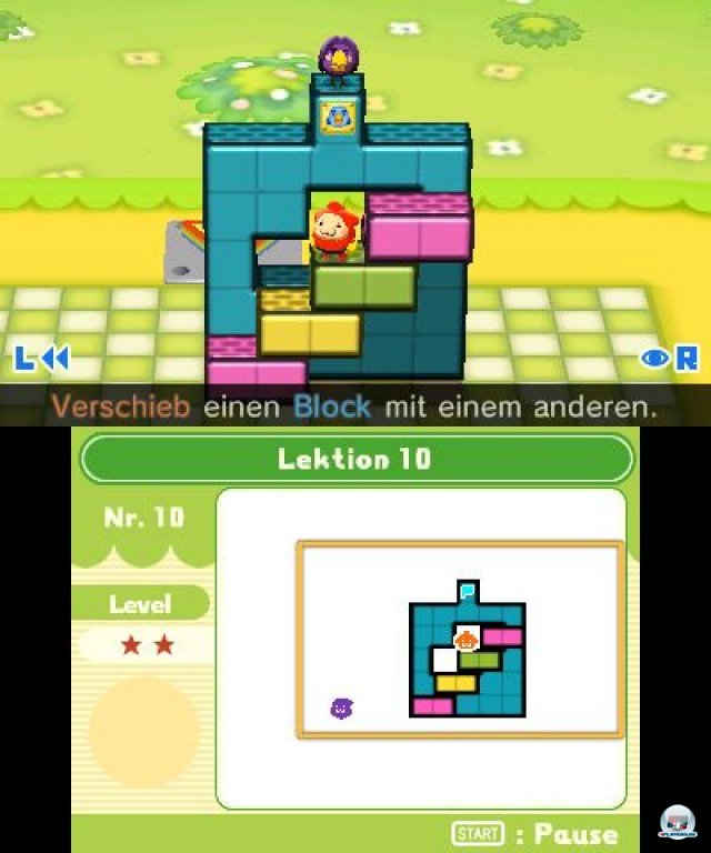 Screenshot - Fallblox (3DS)