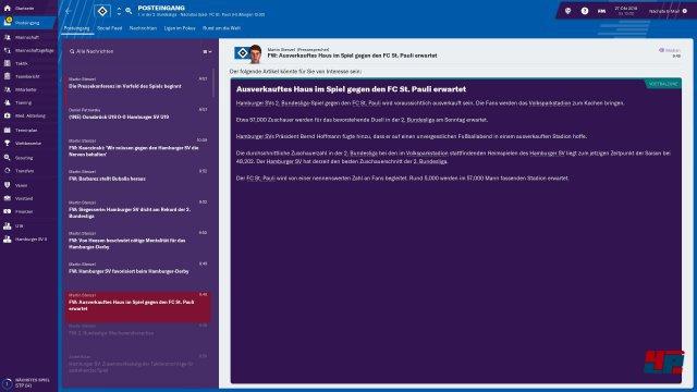 Screenshot - Football Manager 2019 (PC) 92577062